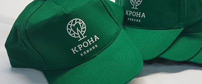 кепки с логотипом