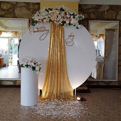 свадебная фотозона - фото 4